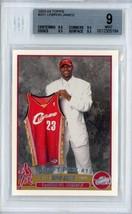 2003-04 Topps Basketball LeBron James Rookie Card #221 RC BGS 9 Mint Cav... - $4,299.00