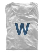 Chicago Cubs T-Shirt Wrigley Field W Flag Fly the Flag Reg/Soft (S-M) CL... - $11.66+