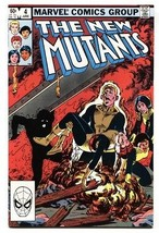 The New Mutants #4 comic book  1983- Marvel High Grade - $20.18