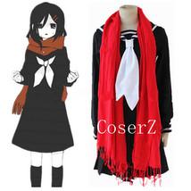 Anime Cosplay Kagerou Project Mekakushi Dan Ayano Tateyama Dress Cosplay Costume - $85.00