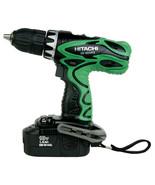 """New Hitachi 1/2"""" Cordless Driver Drill 18V w/ 2 Batteries - DS18DVF3 - $111.55"""