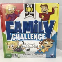 Family Challenge Board Game Beat The Parents Spin Master Games New, Sealed - $14.50
