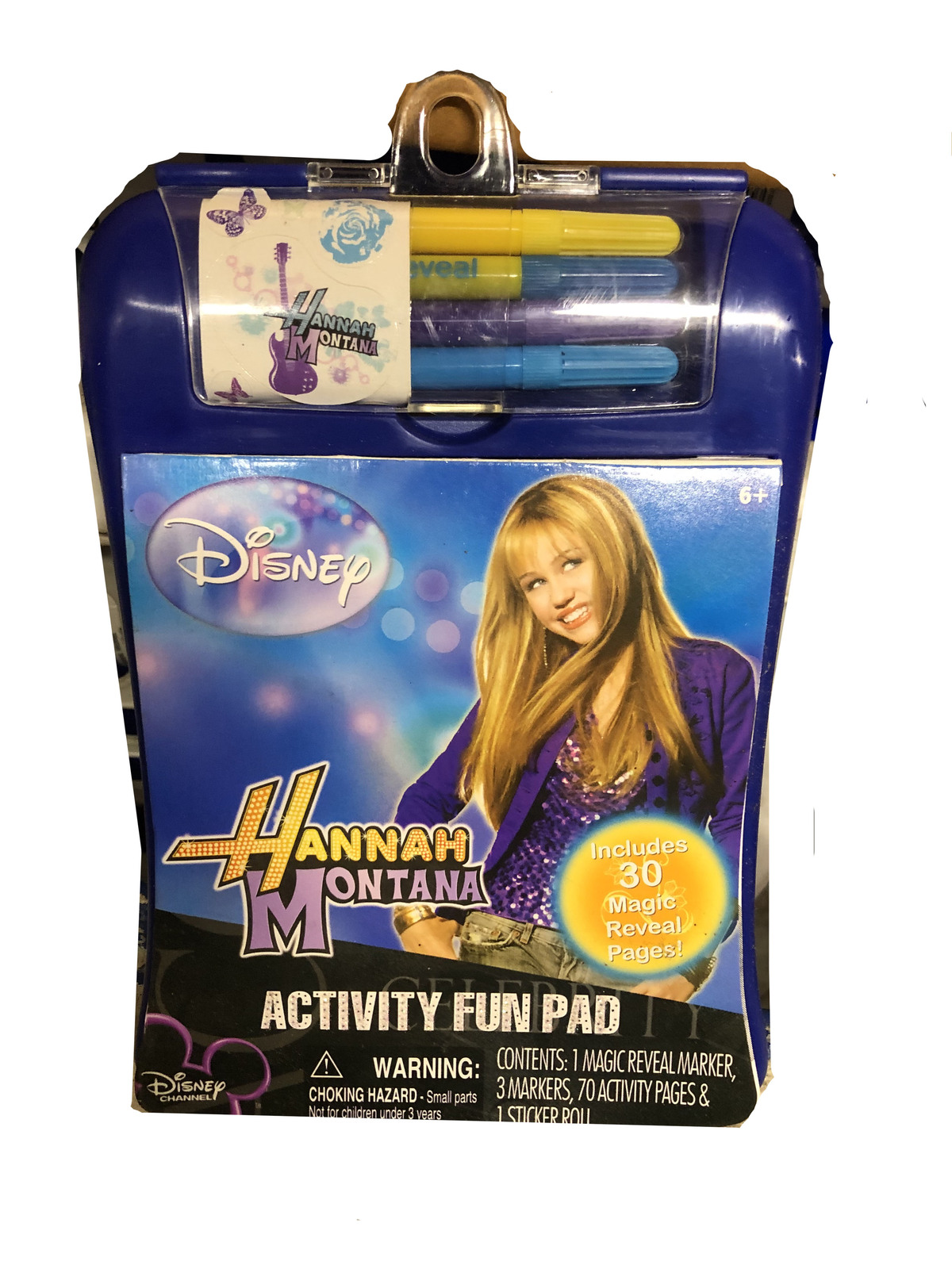 Primary image for Hannah Montana Activity Fun Pad Includes 30 Magic Reveal Pages