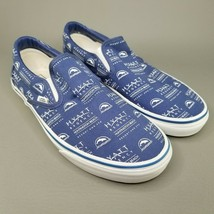 VANS x Hyatt Regency Huntington Beach Slip On Shoes Mens Size 10 RARE SA... - $93.49