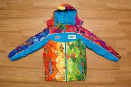 Sochi 2014 Olympic Unisex Padded Warm Winter Jacket Parka Men M Women L ... - $153.93