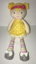 CARTER'S JUST ONE YOU # 63045 BLONDE DOLL YELLOW DRESS PLUSH TOY STUFFED... - $48.37
