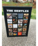 The Beatles Complete 1964-1970 Framed Mini Album Cover 3D Wall Art Large... - $98.99