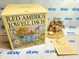"""Lowell Davis """"Warm Milk"""" Figurine  1989 140/5000 Schmid Card IOB Cat (1) - $110.12"""