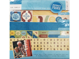 """Colorbok Our Family Scrapbook Page Kit, 8"""" x 8"""""""
