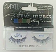 Ardell Color Impact Demi Wispies Blue  - $9.99