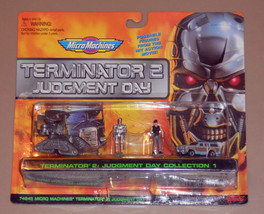 Terminator 2 Judgement Day  MicroMachines Playset #1 - $116.88