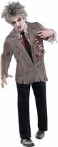 Zombie Shirt Costume Starter Halloween Fancy Dress Adult Standard Size - $34.64