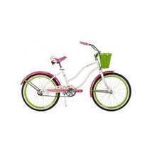 Bikes For Girls 20 Inch Bicycle Huffy Beach Cruisers Single Speed Basket... - €96,32 EUR