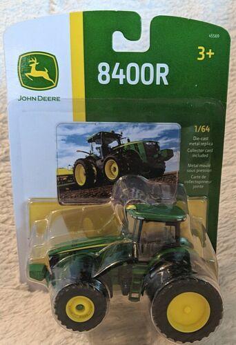 John Deere LP64762 ERTL 8400R Die Cast Metal Replica Tractor