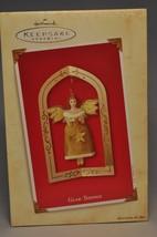 Hallmark - Glad Tidings - Angel And Stand - Keepsake Ornament - $8.01