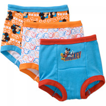 Mickey Mouse Potty Training Pants Underwear, 3-Pack (Toddler Boys) - $13.99