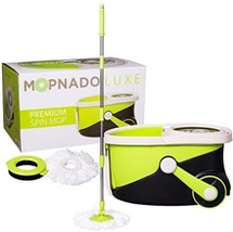 Mopnado Stainless Steel Deluxe Rolling Spin Mo... - $77.68