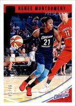 Renee Montgomery 2019 Donruss WNBA Purple Parallel Card #41 82/99 - $5.00
