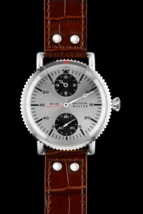 HOT Edition DM1936 Military Automatic Watch AIR FORCE 47mm Genuine Leath... - $430.00