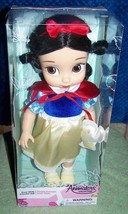 "Disney Animators' Collection SNOW WHITE Doll 15""H New - $36.88"