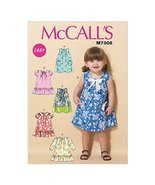 Mccall's Patterns 7308 CCB Sizes 1 - 4 Toddlers Dresses, Multi-Colour by... - $14.21