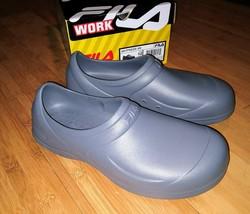 Fila Mens Skypress SR Slip-Resistant Clog Work Safety Shoes Slip On Resi... - €16,91 EUR