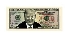 Pack of 50 - Donald Trump Farewell Presidential Novelty Dollar Bills  - $14.84
