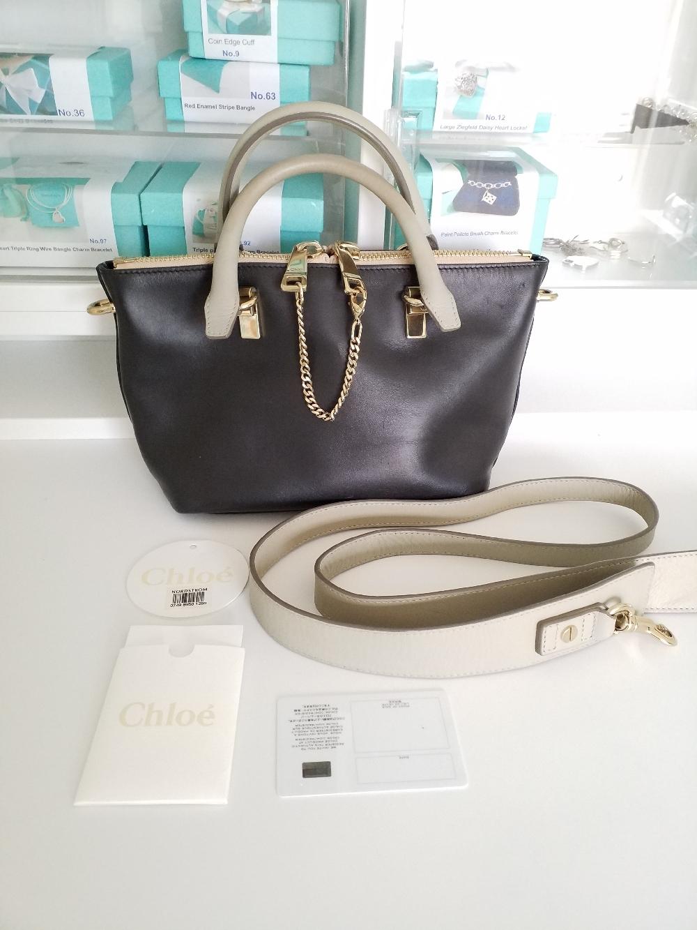 Chloe Baylee Handbag Black Mini bag