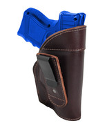New Barsony Burgundy Leather Tuckable IWB Holster for Compact 9mm 40 45 ... - $32.99
