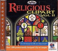 Religious Clipart Vol 2 (Jewel Case) [CD-ROM] Windows / Mac - $8.38