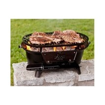Lodge Cast Iron Grill Sportsmans Camping Outdoor Patio Hibachi Tailgatin... - £98.83 GBP