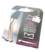Maidenform Body Shaper Mini Toner Nude L Smoothes Torso to Thigh 20 Denier - $9.95