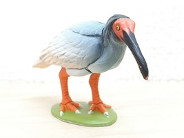 Kaiyodo Natural Monuments CRESTED IBIS bird animal figure choco q - $11.68 CAD