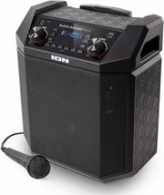 100W Portable Speaker Battery Powered Bluetooth Microphone Cable AM/FM Radio USB - $247.49