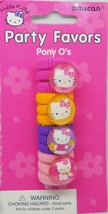 Hello Kitty Retro Sanrio Ponytail Holder Hair Bands 4 Ct Birthday Party ... - $1.93