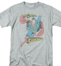 Superman T-shirt A Job For DC comic book Batman superhero retro cotton DCO538 image 1