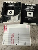 1991 Dodge Ramcharger DW 150 250 350 Service shop Repair Manual Set W Su... - $118.75