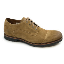 Timberland Men's Kendrick Cap Toe Medium Brown Suede Oxford Casual Shoes A1PI4 - £53.42 GBP