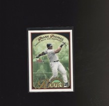 2001 Fleer Tradition Grass Roots #7GR Frank Thomas Chicago White Sox - $1.20