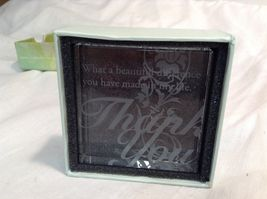 NEW Seagull Studios Crystal Reflections Green Box w Saying image 4