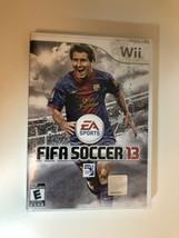 FIFA Soccer 13 (Nintendo Wii, 2012) Complete CIB - $19.79