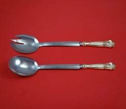 """Georgian by Towle Sterling Silver Salad Serving Set Modern Custom Made 10 1/2""""  - $189.00"""