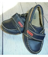 The Childrens Place Loafers Shoes Boys Slip On navy Toddler Size 9 - $9.87