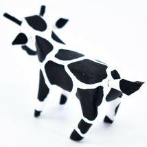 Handmade Alebrijes Oaxacan Wood Carved Painted Folk Art Cow Miniature Figure image 3