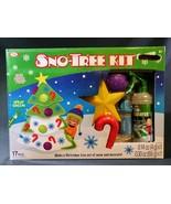 Sno-Tree 17pc Kit For Snow Making Christmas Tree Kids Play - $9.89