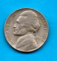 1952 Circulated Jefferson Nickel - Moderate Wear -About VF - $0.05