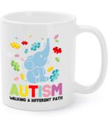 Elephant Autism Walking A Different Path Autism Coffee Mug - €14,96 EUR