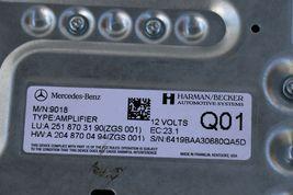 09-12 Mercedes W251 X164 W164 Amp Amplifier Harman Becker 251-870-31-90 M/N 9018 image 5