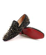 Merlutti Black Velvet With Pink Tassel Prom Wedding Loafers