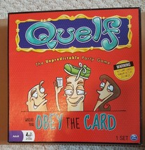 Quelf, The Unpredictable Party Game by Spin Master, 2011- Very Good Condition - $14.49